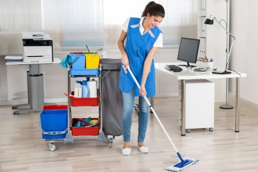 Office Cleaning Lady