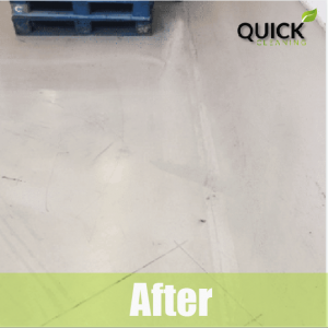 floor after airbnb cleaning service