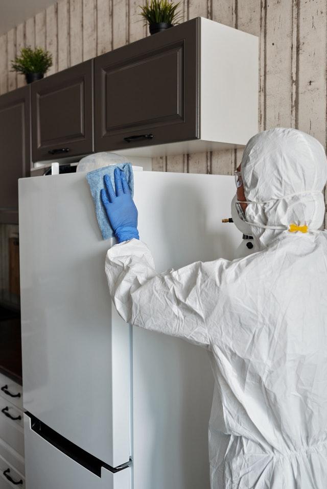 moving during cornavirus pandemic cleaing