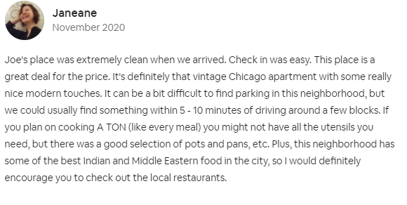 airbnb cleaning service lincoln park