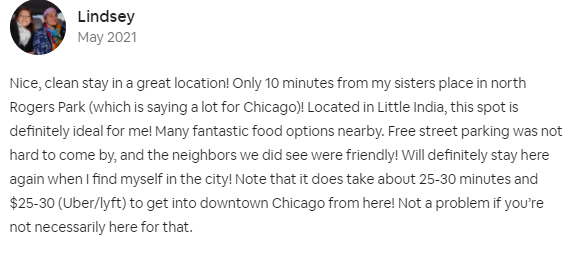 airbnb cleaning services wicker park